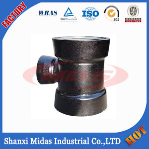 Water Pipeline Ductile Iron Pipe Fittings All Socket End Equal Tee for Ductile Iron Pipe Connection Use pictures & photos
