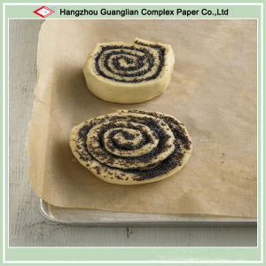 Unbleached Oven Safe High Temperature Resistant Food Parchment Paper Roll pictures & photos