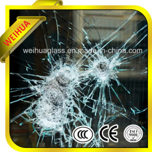 Safety White Laminated Glass Door with CE / ISO9001 / CCC pictures & photos