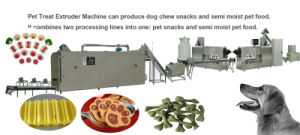 Injection Molding Pet Chews Nutual Dog Food Pet Food Pellet Popular Dog Treats Machine pictures & photos
