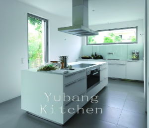 White Painting Kitchen Lacquered Kitchen Furniture pictures & photos