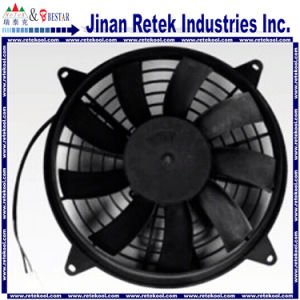 Universal 12 Inch 80W Curved Auto Cooling Fan/Condenser Fan pictures & photos