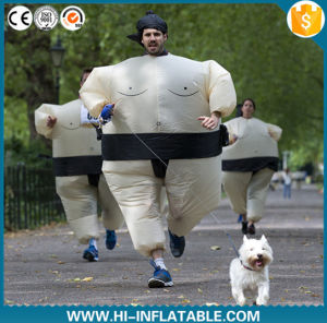 Hi High Quality Promotion Inflatable Sumo Wrestling Suits Inflatable Fat Suit pictures & photos