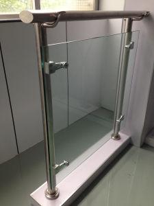Steel-Glass Guardrail for Public Place pictures & photos