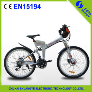 Aluminum Alloy 36V 250W Shuangye Electric Bicycle pictures & photos