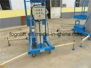 Small Single Mast Lifting Platform with Light Weight pictures & photos
