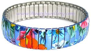 Spring Metal Bracelet (CB-142)
