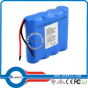 Rechargeable Li Ion Battery 18650 3.7V 12400mAh Battery pictures & photos