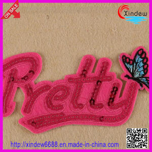 Embroidered Sequin Patch pictures & photos