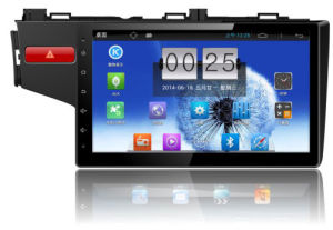 "10.1"" Big Screen Android 4.4 Car GPS Navigation for Honda New Fit with 1024 * 600 Resolution and DVR Camera Input"