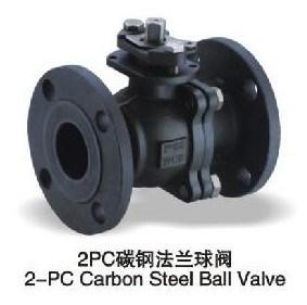 2PC Wcb Flange Ball Valve (Q41F-16C) pictures & photos