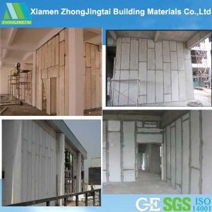 Rock Wool Siding Sandwich Panel EPS Board for Wall Partition pictures & photos