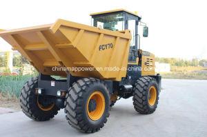 5000kgs Wheel Site Dumper for Sale pictures & photos