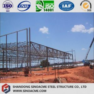 Steel Truss Structure for Prefabricated Workshop pictures & photos