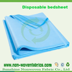 Medical Nonwoven Fabric for Disposable Bed Sheet (100%PP) pictures & photos