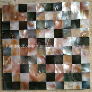 Natural Color Mother of Pearl Mosaic Tile (HMP79) pictures & photos
