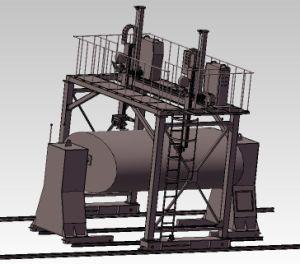 Jinan Huafei Gantry Type Welding Machine for Irregular Cylinder Tank pictures & photos