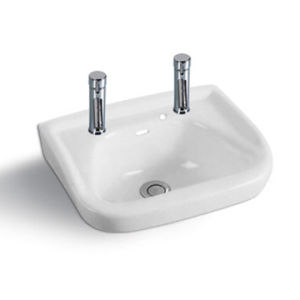 Ceramic Sanitary Ware Wall Hung Basin Wash Basin (ST-4004)