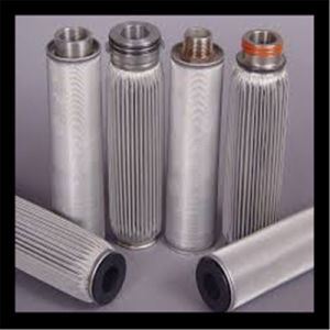 Pleated Stainless Steel Metal Filter Element pictures & photos