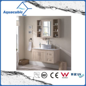 Wall Mount Bathroom Cabinet with Round Vanity Top (ACF8901) pictures & photos