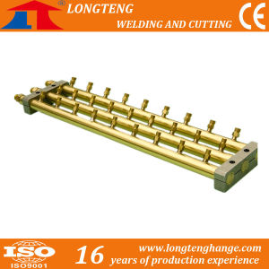 7 Outlet Brass Gas Separation Panel Used in Cutting Machine pictures & photos