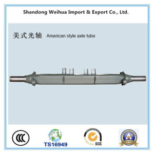 American Style Axle Tube for Semi Truck Trailer pictures & photos