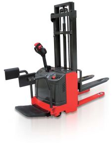 Electric Pallet Stacker with Arm Rest pictures & photos
