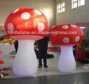 Colorful Mushrooms Inflatable, Advertising Inflatable Mushroom House
