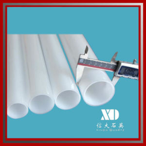 Milky Quartz Tube for Infrared Heating