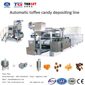 New Style Automatic Toffee Candy Depositing Line pictures & photos