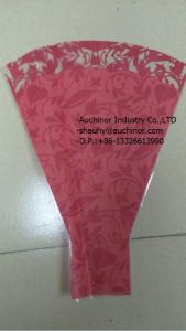 Cone Shaped Cello Bags Wholesale Single Rose Flower Sleeve pictures & photos