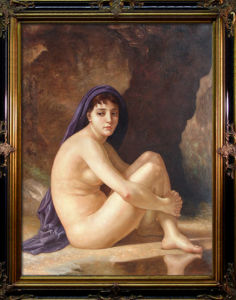 Oil Painting of Nude Girl pictures & photos