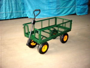 Four Wheel Garden Tipping Cart (Tc4701) pictures & photos