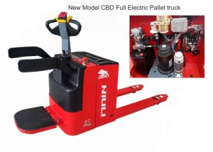 Niuli 2 Ton Electric Pallet Truck with Ce pictures & photos