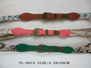 PU Belt Fl-0674 pictures & photos