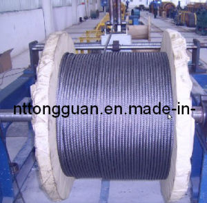 Elevator Steel Wire Rope 8*19s (6mm---16mm) pictures & photos
