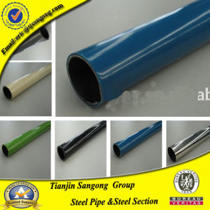 China Plastic Coated Steel Pipe for Logiform System pictures & photos