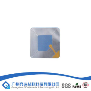 Anti Theft Label 8.2MHz EAS RF Soft Label 40*40mm pictures & photos