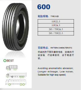 Annaite Brand New Radial Truck Tyre (600 11r22.5 11R24.5 295/75R22.5) pictures & photos