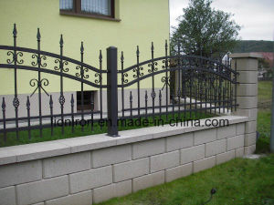 Cheap Swimming-Pool Iron Fencing with Steel Posts pictures & photos