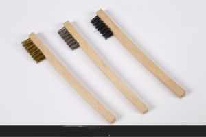 Polishing Function Steel Wire Brush Wheel Brush pictures & photos