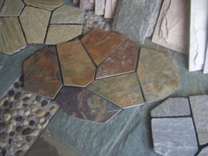 Natural Grey Black, Green, Rusty Slate for Wall Cladding & Flooring pictures & photos