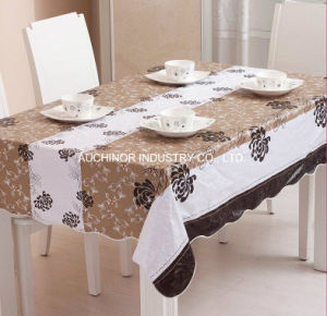 High Quality Strong Waterproof Disposable Printed Tablecloth pictures & photos