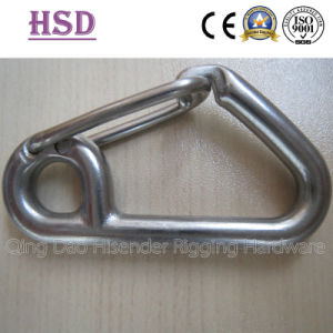 Fastener Rigging Zinc Plated Snap Hook with Screw and Eyelet pictures & photos