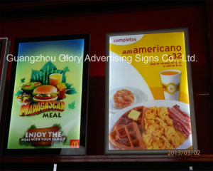 LED Menu Display Light Box/Resaurant Light Box Signs pictures & photos