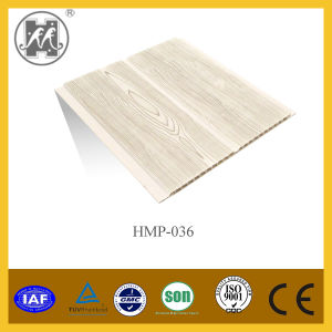 New Wooden Color PVC Ceiling & Wall Panel Hmp-036 pictures & photos