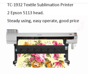 Inkjet Ink Printer for Polyester Using Sublimation Ink pictures & photos