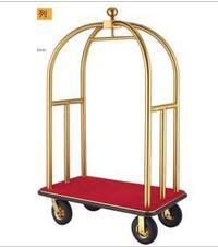 Good Quality Luxury Brushed Brass Bellman Trolley (DF52) pictures & photos