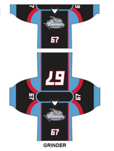 Custom Training Racing Suit Dri Fit Sublimation Printing Rugby Ice Hockey Jersey pictures & photos
