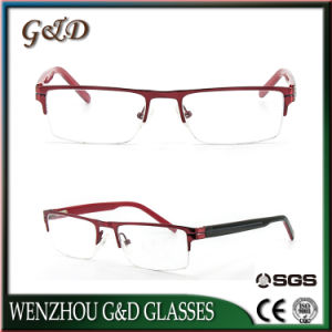 New Design Popular Eyewear Eyeglass Optical Metal Frame 41-015 pictures & photos